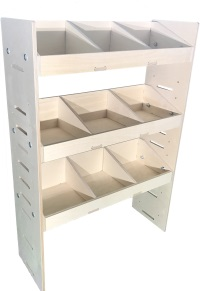 Van Plywood Shelving and Racking Storage System 1087mm x 750mm x 269mm - BVR1075263